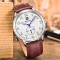 Relojes Hombres Lujo de la Marca BENYAR Buceo 30 m Reloj de Cuarzo Relojes de pulsera de Moda de Cuero Genuino de Los Hombres Relojes Deportivos relogio masculino
