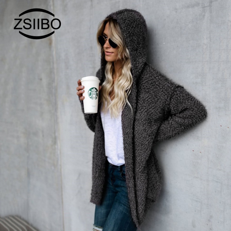 Long Cardigan Women Long Sleeve Knitted Sweater Cardigans Autumn Winter Womens Warm Sweaters Coat 2019 Jersey Mujer Invierno