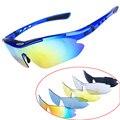 2020 Obaolay 5 линз велосипедные солнцезащитные очки для рыбалки  езды на велосипеде  очки для мужчин и женщин  велосипедные очки с оправой для бли...
