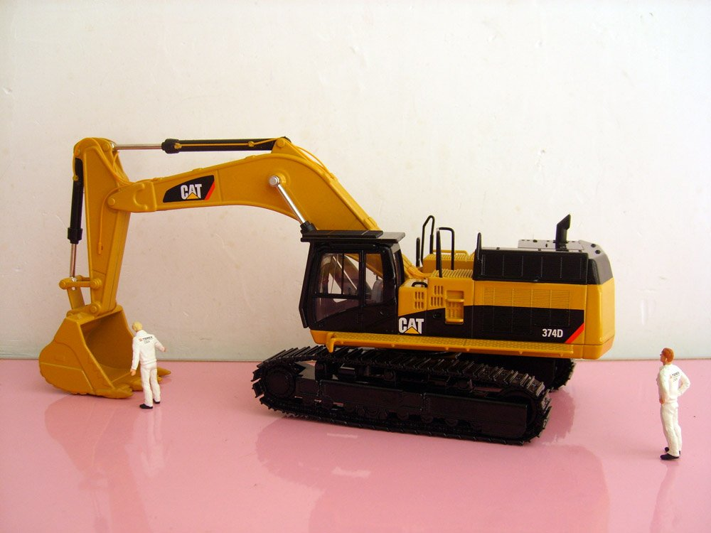 N-55274 1:50 CAT374D гидравлический экскаватор игрушка