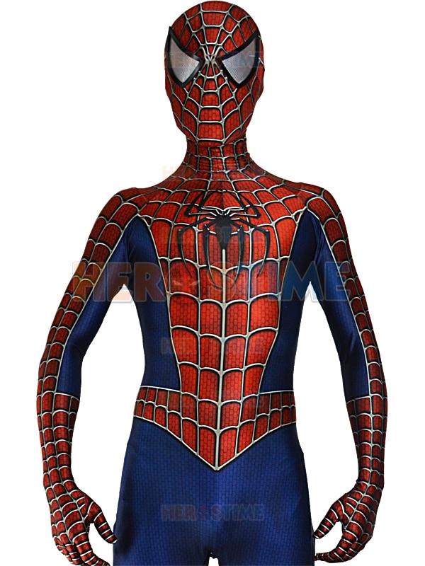 Nieuwe Ogen Lenzen Raimi 3D Gedrukt Spiderman Cosplay Kostuum - Carnavalskostuums