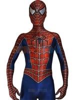 New Eye Lenses Raimi 3D Printed Spiderman Cosplay Costume Suit