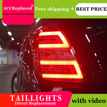 2PCS Car Styling for Chevrolet Trax Taillights 2014-2019 for Trax LED Tail Lamp+Turn Signal+Brake+Reverse LED light