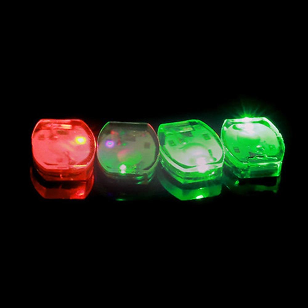 20 Pcs/lot Mini Waterproof Led Light Blingking Flashing Vibrate Glowing Shoe Lights For Wedding Party Halloween DIY Lamps