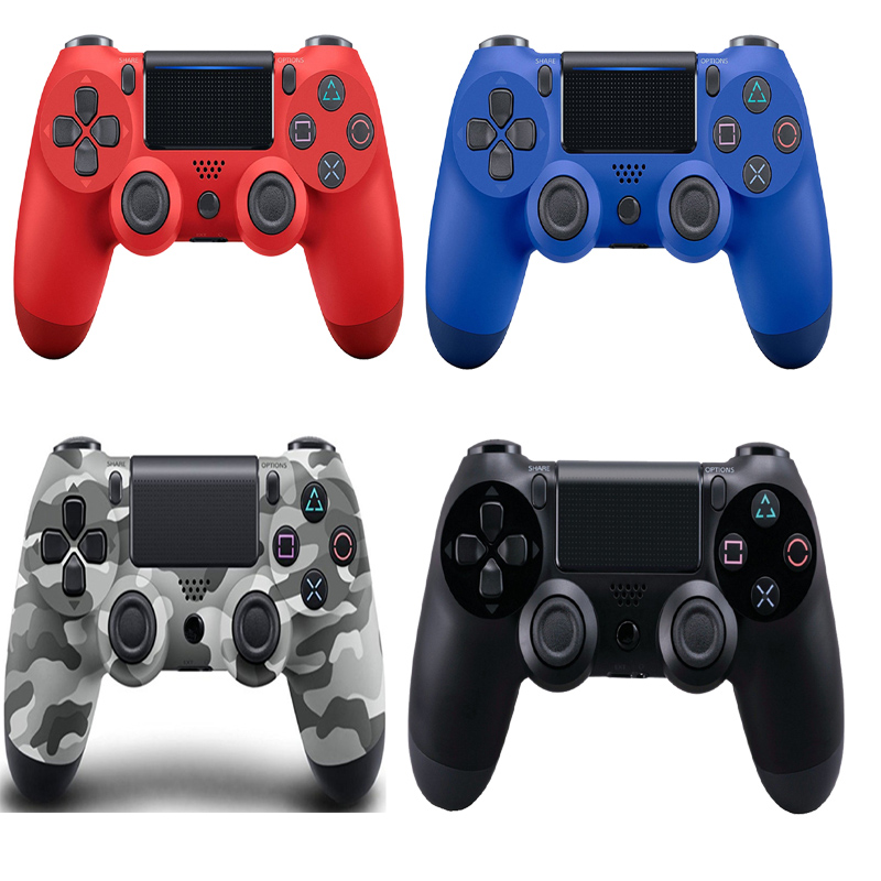 for PS4 Wireless Bluetooth Gamepad Dual Vibration 6 Axies Wireless Controller for Playstation 4 Joysticks Bluetooth Gamepads NEW