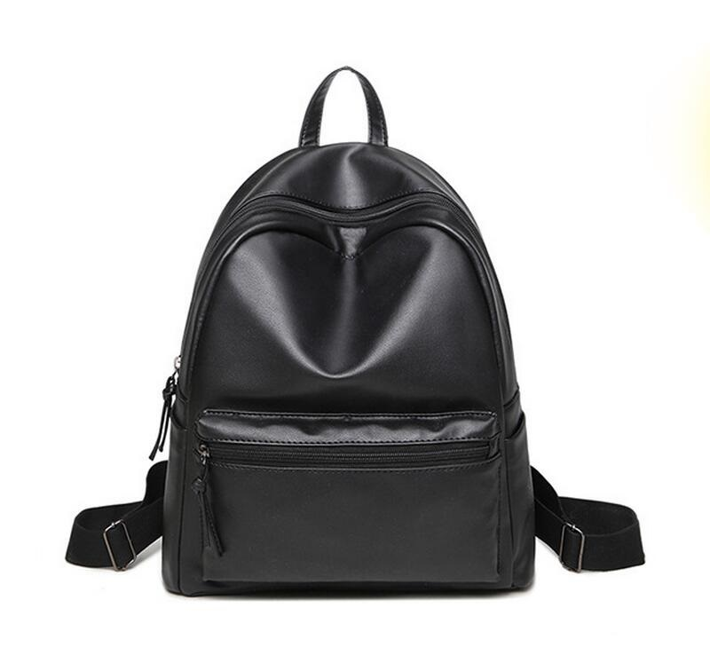 New Casual Women Backpack Female PU Leather Womens Backpacks Bagpack Bags Travel Bag back pack Free Shipping JIE-056