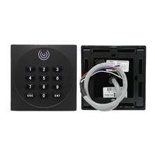 IP65 Su Geçirmez RFID kart okuyucu 13.56 MHz 125 KHz anahtar kartı Erişim Kontrolü Okuyucu Tuş Takımı Wiegand 26 34 NFC Okuyucu