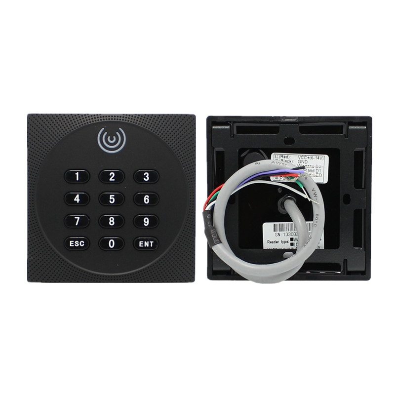 IP65 Waterproof  RFID Card Reader 13.56MHz 125KHz Proximity Card Access Control Reader Keypad Wiegand 26 34  NFC Reader