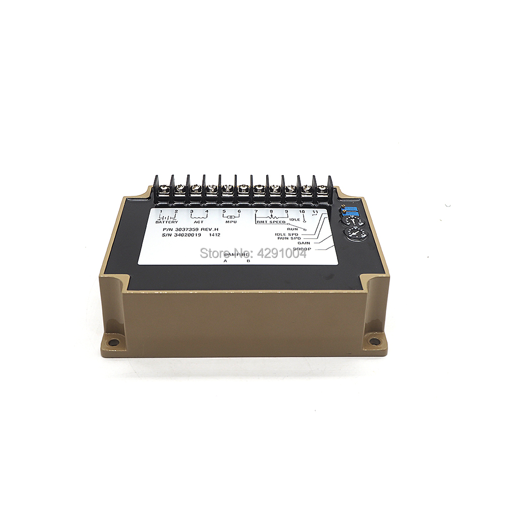 Match 3037359 24V Diesel generator speed governor 3037359 for Cummins speed actuator цена