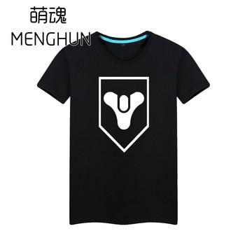 Hot console game souvenir Destiny logo printing t shirts short sleeve destiny t shirts ac421
