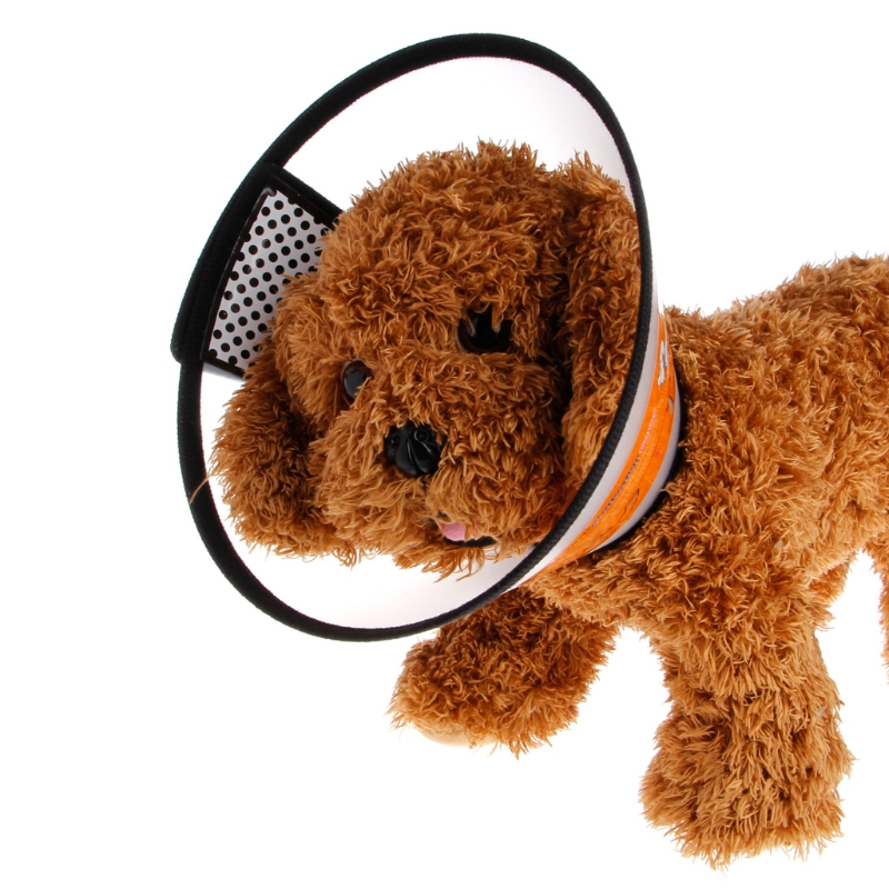 Safety Puppy Anti-Bite Neck Collar Cover Healing Cone Protective Pet Dog Cat Protector Tool