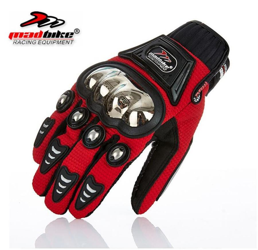 MADBIKE Motorcycle Gloves Touch Screen Breathable Wearable Protective Gloves Outdoor Moto Motocross Stars Moto