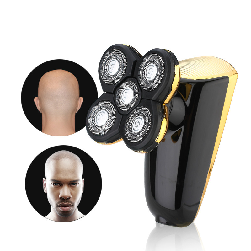 Electric Shaver for men 5D Head Polish Hair Trimmer USB Rechargeable Razor 5 blade Shavers Washable 3D Floating Shaving Machine electric shavers men trimmer electric head razor shaver usb shaving blades triple blade washable povos pw830 100 240v