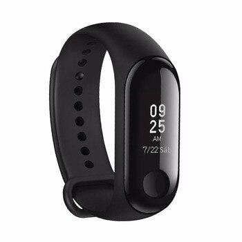 【Soporte español】Mi Band 3 Xiaomi original, pulsera inteligente Android Mi Band 3, pulseras para actividad física con pantalla OLED de 0,78 pulgadas con frecuencia cardiaca