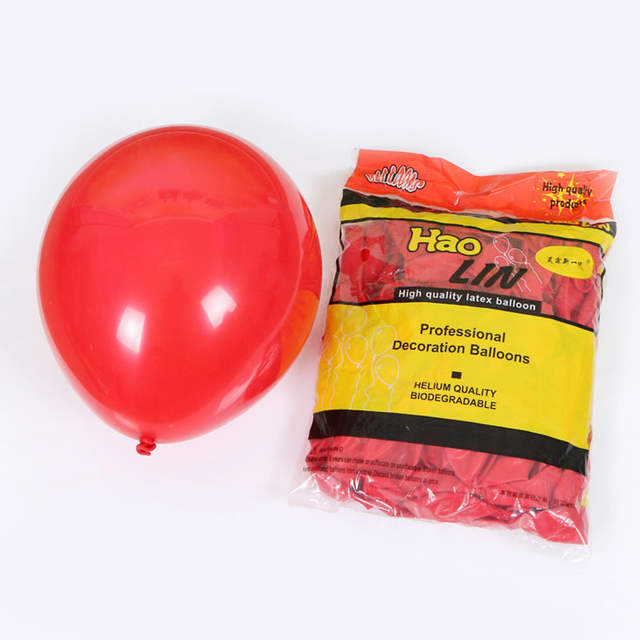 Placeholder 10pcs 2 2g Solid Color Red Green Round Latex Balloon Thickening Celebration Christmas Colors Party Supply