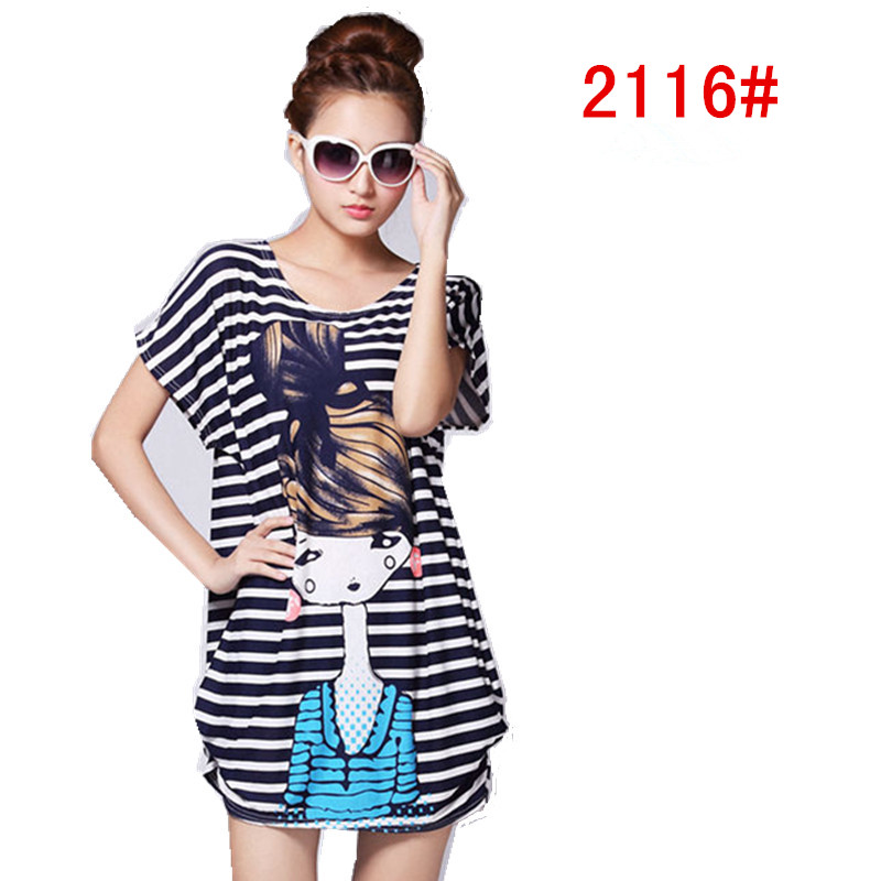 656fc63b531 28 kinds of style maternity clothing clothes dress Summer wear loose  pregnancy short sleeve T shirt pregnant women dresses-in Dresses from Mother    Kids on ...