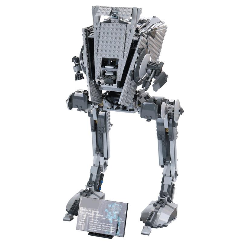 05052 Star The Empire AT ST Robot Building Blocks Bricks Set Wars Toys For Children Gift