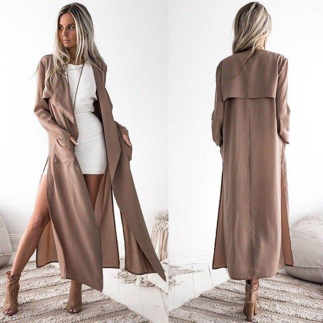 Классическое английское пальто для беременных ветровка женское двубортное длинное женское свободное меховое женское осеннее пальто