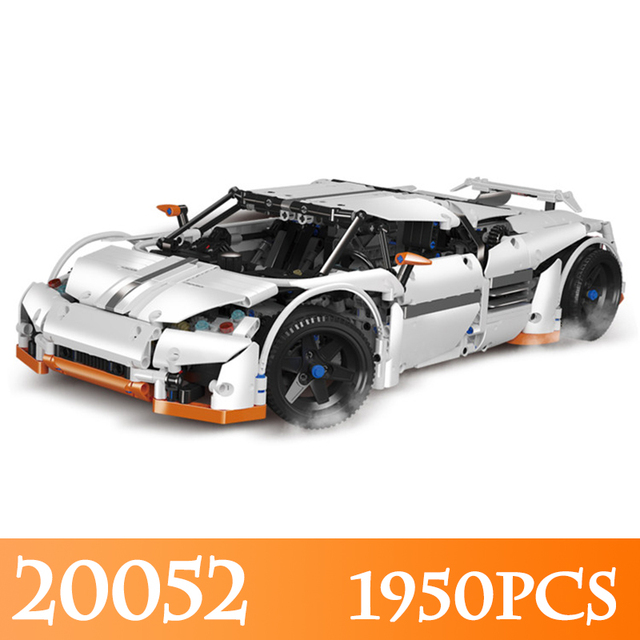 US $172 0 |20052 1950pcs Technic The Predator Supercar Model Building Kits  Compatible Race Car Building Blocks LegoINGLYS Educational Toys-in Model