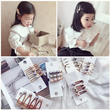 Jolly S 4pcs/set boutique Pearl hair clips for girls woman ins fashion hairpin kids hairpins accessories