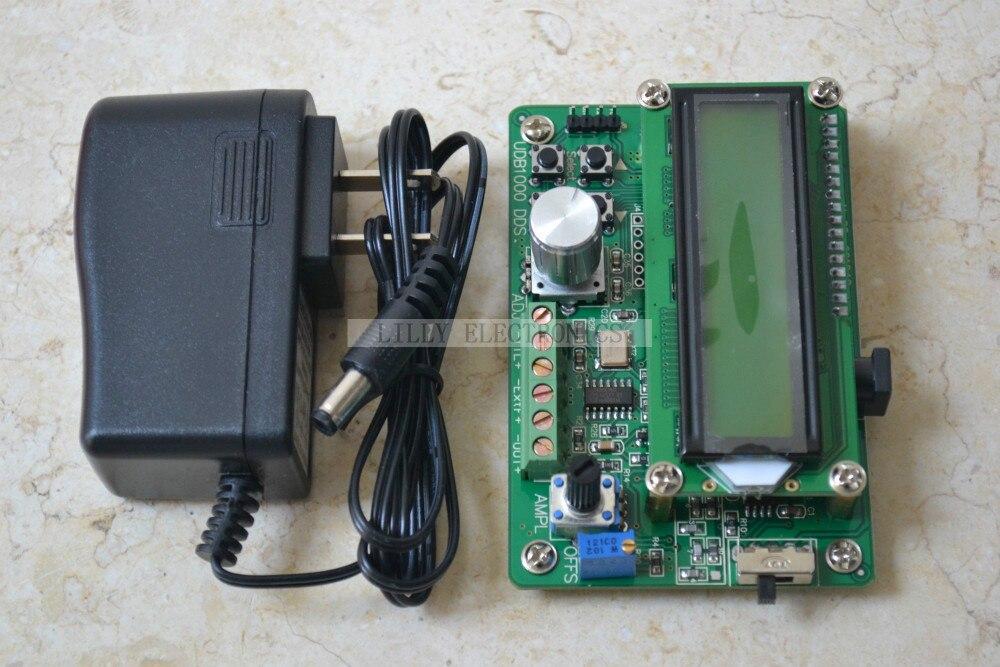 UDB1008S fonction générateur de Signal Source compteur de fréquence Module DDS onde 8 MHz