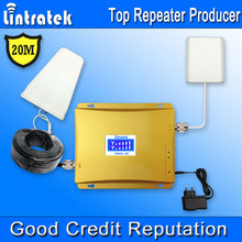 20 Meter GSM 900 MHz 1800 MHz 4G Signal Booster LCD-Display GSM 1800 4G LTE 1800 Handy Signalverstärker Verstärker Kit *