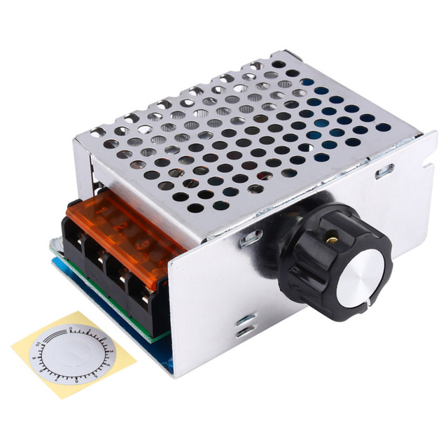 Schema Elettrico Dimmer Per Led 220v : W v ac scr voltage regulator dimmer electric motor speed