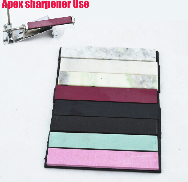 8 Pieces Whetstone For Sharpening Apex Sharpener Ruixin 150*20*5mm