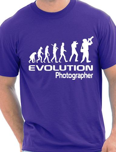 Evolution Of A Photographer Cameraman Mens Ladies Hoodie Gift Size S-XXL
