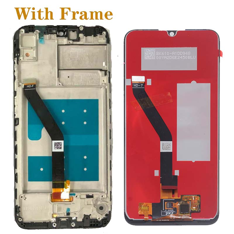 Image 2 - 6.01'' Original display for Huawei Y6 2019 Y6 Prime 2019 Y6 pro 2019 LCD+ touch screen digitizer component perfect screen repair-in Mobile Phone LCD Screens from Cellphones & Telecommunications