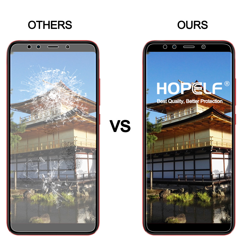 Image 4 - HOPELF Tempered Glass for Xiaomi Mi A2 Lite 6X Screen Protector 2.5D Phone Protective Safety Glass for Xiaomi Mi A2 Lite GlassPhone Screen Protectors   -