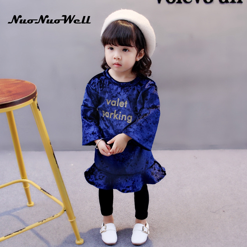 NNW 2017 Girls Clothing sets Winter Baby Girls Clothes Set in Autumn Top+Pant Skirt 2pcs Outfit Baby Toddler Kids Children Suit baby clothes sets toddler autumn girls fashion cotton long sleeve top holes jeans children cowboy set clothing suit winter new