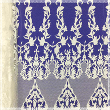 New Elegant off white African Tulle Lace Fabric For Party Dress Embroidery Nigerian Net Mesh 15 Yards