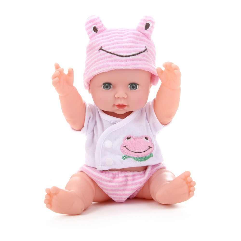 Lol Dolls Toys Bjd Baby Возрожденный силикон звук мигание говорящий мальчик девочка мягкая резина Моделирование Детские куклы игрушки для детей