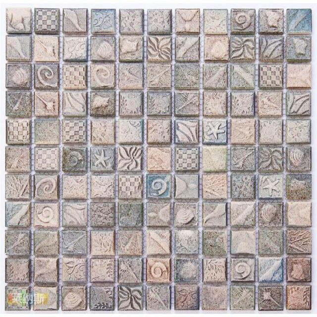 Whole Porcelain Tile Mosaic Sheets Kitchen Backsplash Design Tiles Floor Sticker Bedroom Washroom Yf