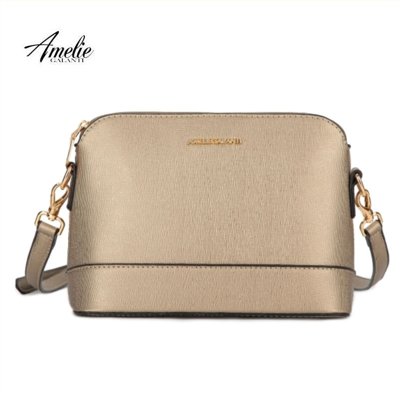 AMELIE GALANTI 2018 fashion messenger bags for women famous design small shoulder bag hard shell solid patchwork spring summer amelie galanti shoulder crossbody bags for women saddle purse embroidered bag with rivet long straps