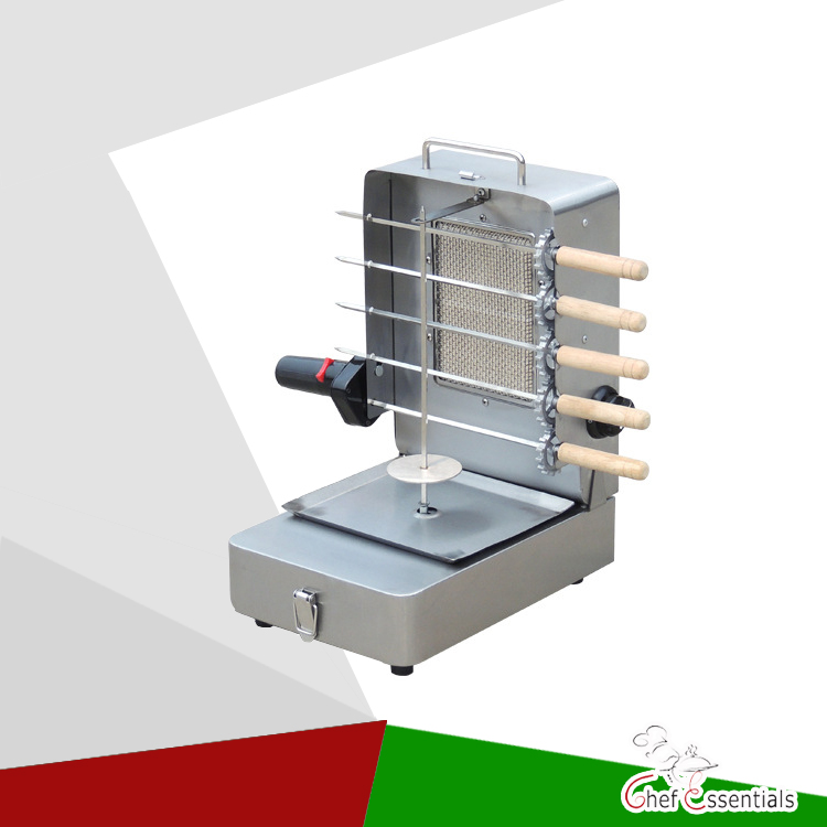 RG02 Stainless steel Portable Gas Kebab Machine Mini Grill Machine