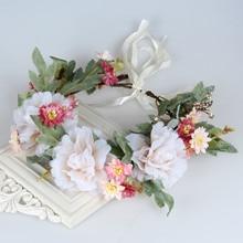 NEW Free shipping KLJH30664-1 36pcs /lot 6 colors 17CM Silk Silk flower headband Hawaii Dancer Summer Beach Party