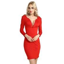 vestidos women red dress knitted dress long sleeve womens clothing elegant dress clothes women vestido sexy