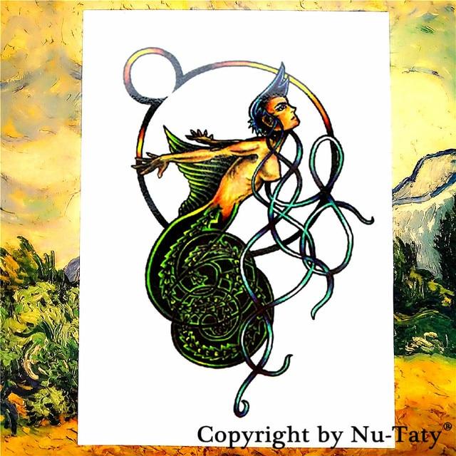 Shnapign Serpent Femme Tatouage Temporaire Corps Art Flash Tatouage