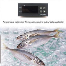 STC-1000 Digital Thermostat Incubator Temperature Controller Two Relay Output LED 110V 220V 12V 24V 10A Heat Cool led digital temperature controller thermostat incubator 220v 10a with heater and cool
