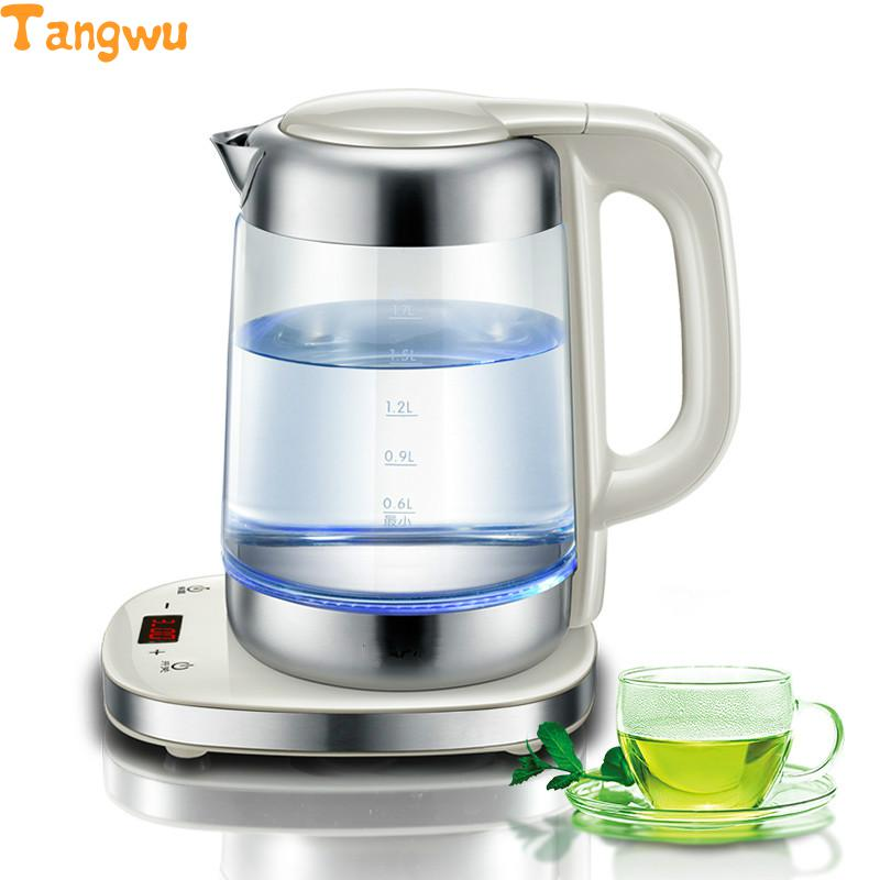 Free shipping Electric kettle with thick glass curing pot of automatic temperature control kettle thermostat temperature control switch electric kettle accessory replaceme