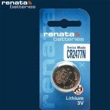 1 Pcs Nouveau de CR2477N Renata Remplacement Montre Batterie Suisse Lithium de 3 volts