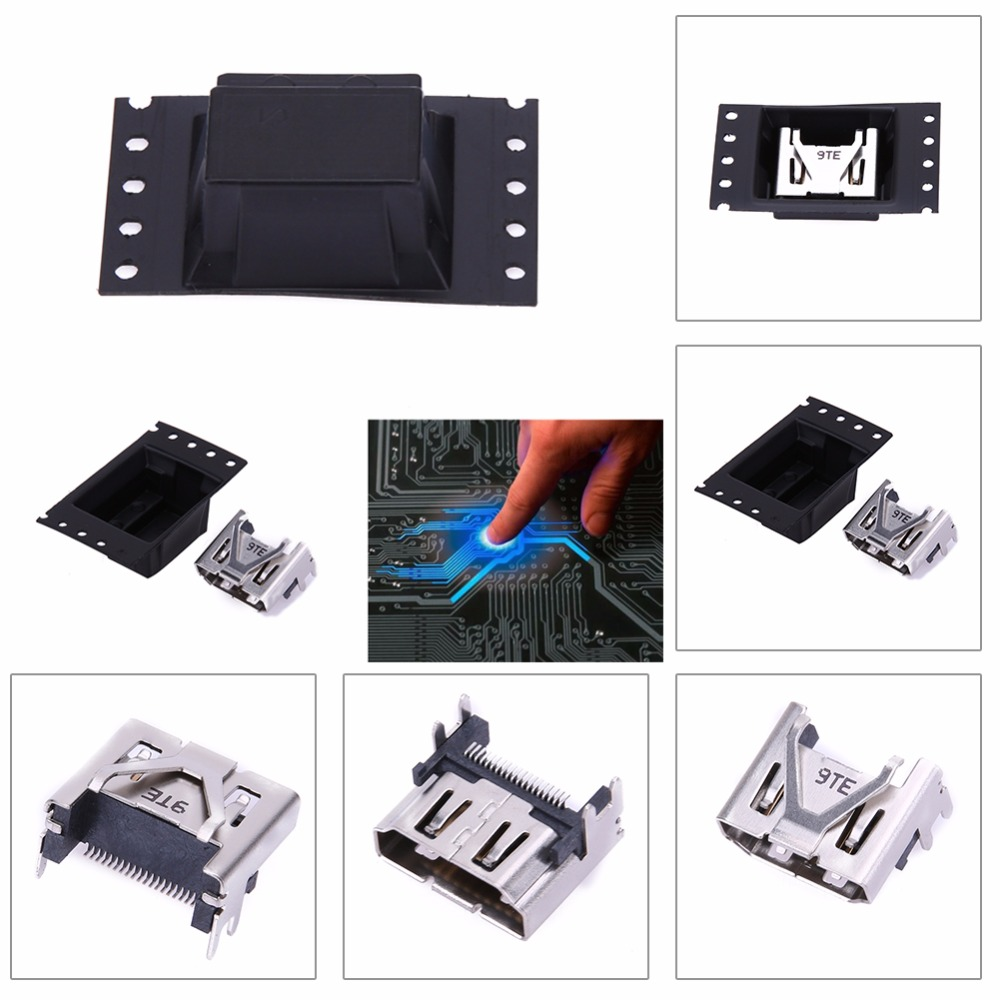 For Sony PlayStation PS 4 Pro & Slim Display HDMI Socket Jack Connector For PS4 Slim Console HDMI Port