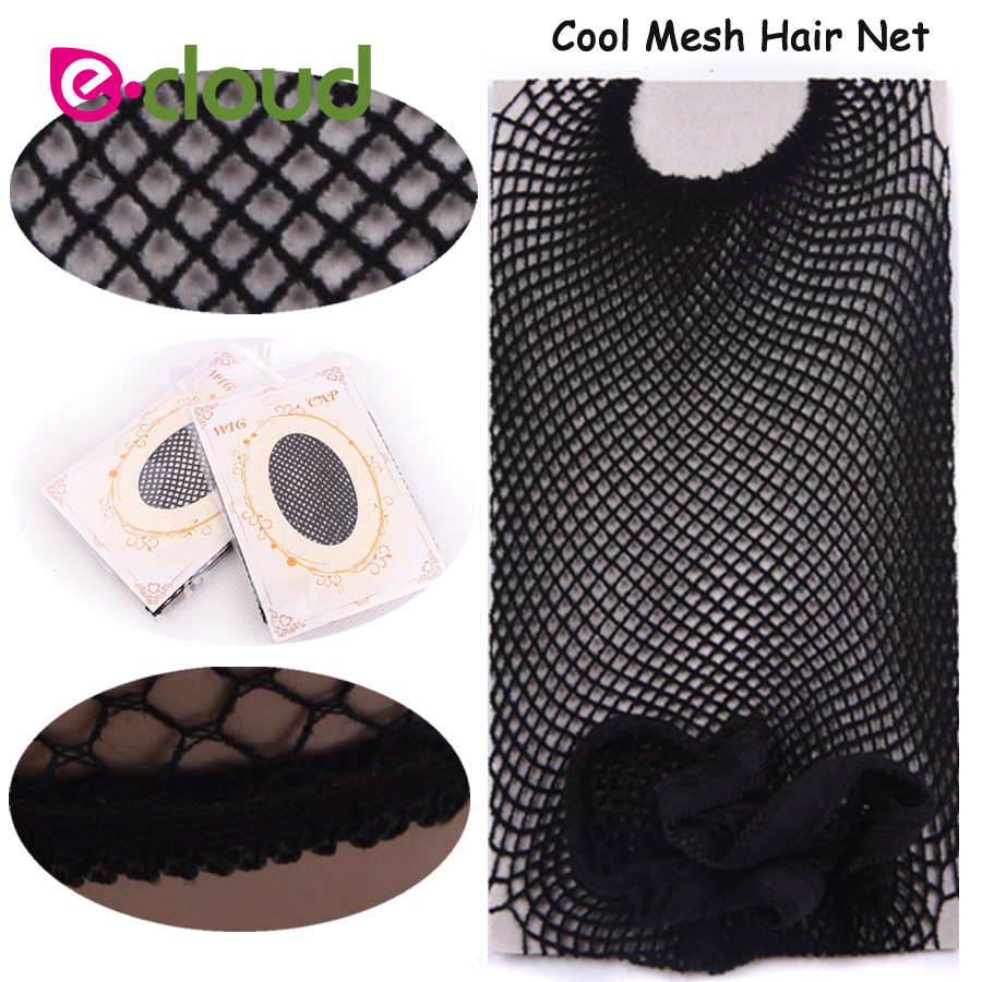 1 To 3pcs Head Caps For Women For Wigs Hair Net Cap Great Elastic Weaving Cap Black Hairnets Cool Mesh Weaving Cap & Hairnets