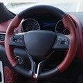 Чехол на руль Maserati Levante ghibl для ручного шитья  верхний слой из кожи  1 шт.