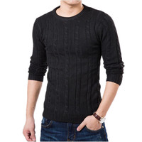 Mens Sweaters Autumn Fashion Brand Casual Sweater O Neck High Quality Slim Fit Knitting Men Sweaters