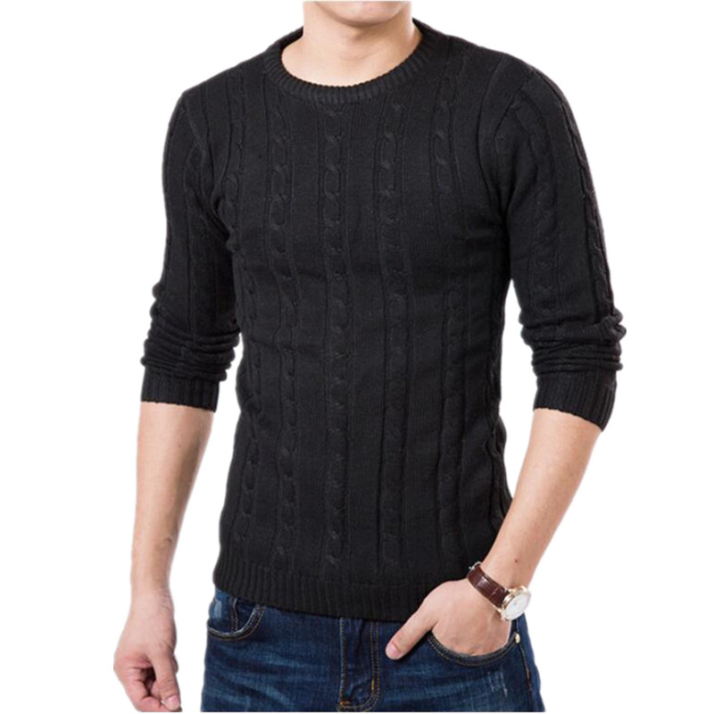 Mens Sweaters Autumn Fashion Brand Casual Sweater O Neck ...