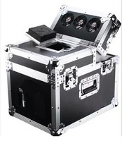 2pcs/lot flight case packing stage light equiment stage light effect hazer machine 600W smoke machine