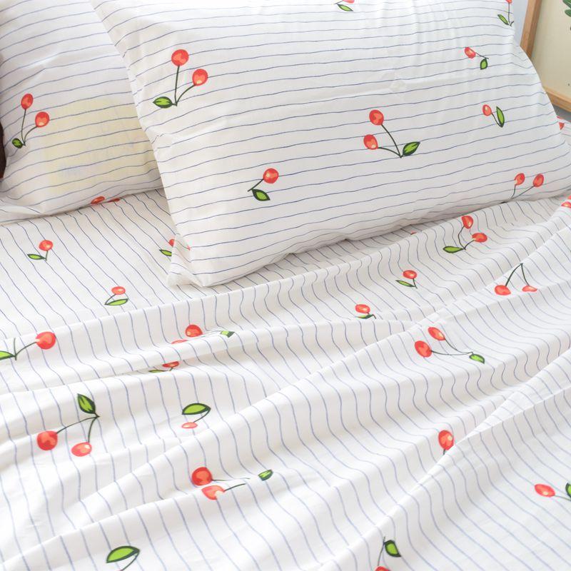 100x230cm/piece 100% Pure Cotton Fabric, DIY Sewing Will Bedding Quilt Children Fresh style Baby Bed Sheet Denim bedding Fabric